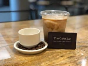 the cake bar coffee and gift card