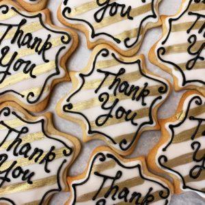 custom cookies by the cake bar