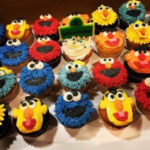 custom childrens cupcakes