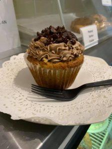 custom cupcake by the cake bar