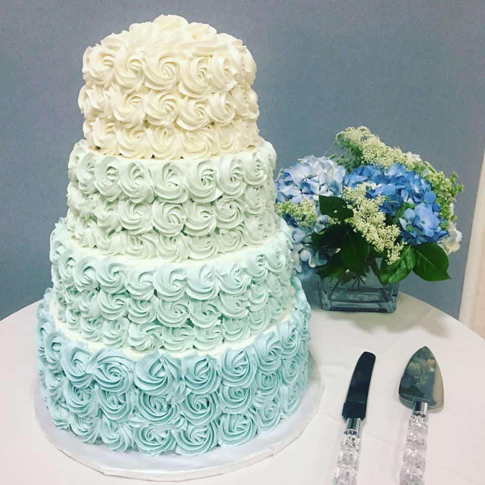 wedding cake squared